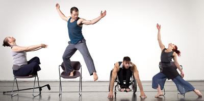 AXIS Dance Company 2012,  Photo by David DeSilva