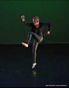 photo of mark travis rivera dancing