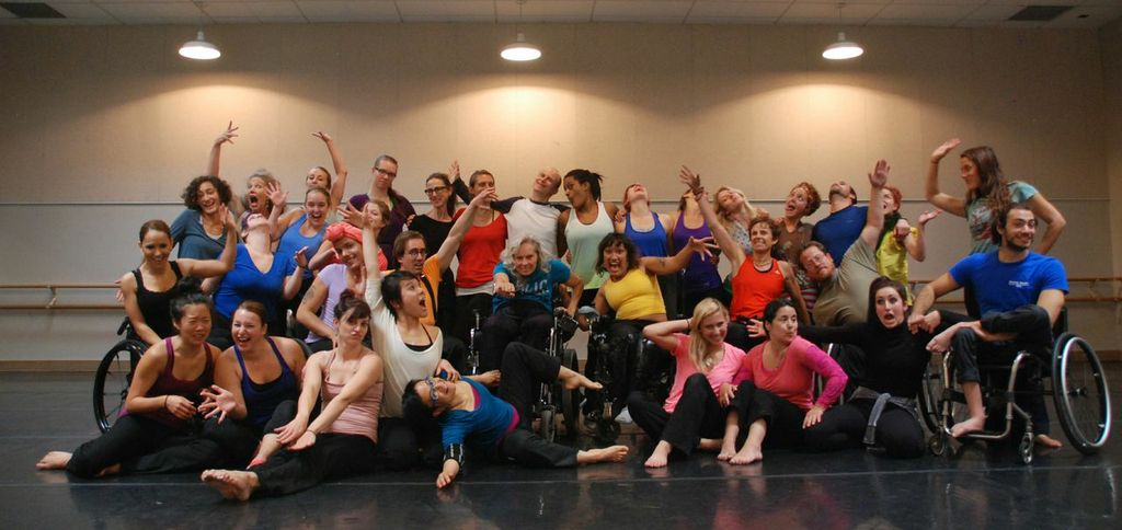 group photo Summer Intensive