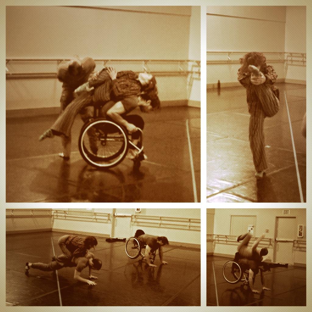 AXIS dancers dancing
