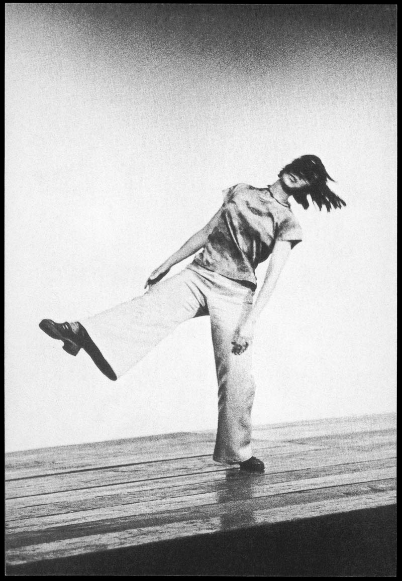 Yvonne Rainer performing Trio A in Portland, 1969