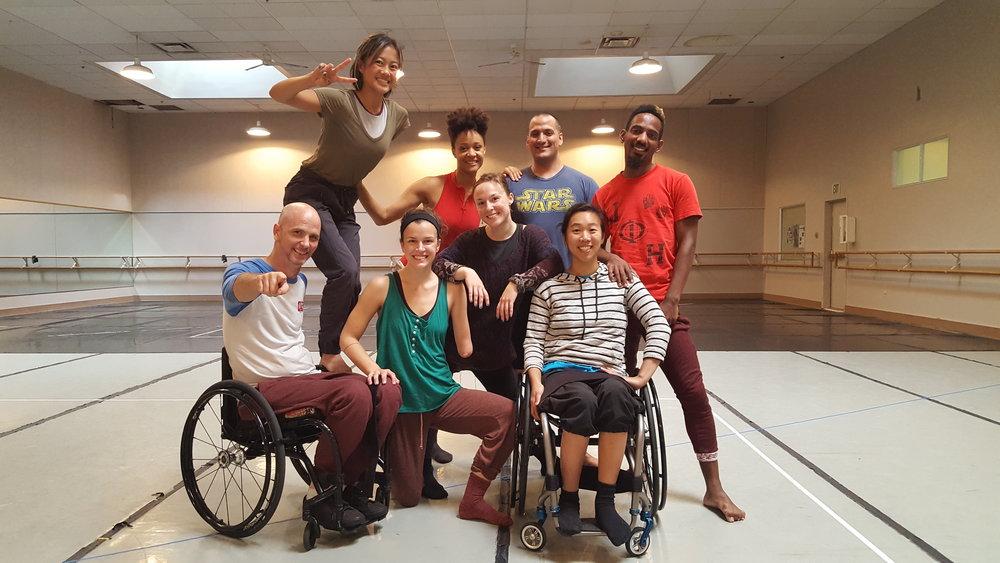 Top row, left to right: Lani Dickinson, Kai Hazelwood, Gregory Dorado, James Bowen Bottom row, left to right: Dwayne Scheuneman, Julie Crothers, Liv Schaffer, Carina Ho