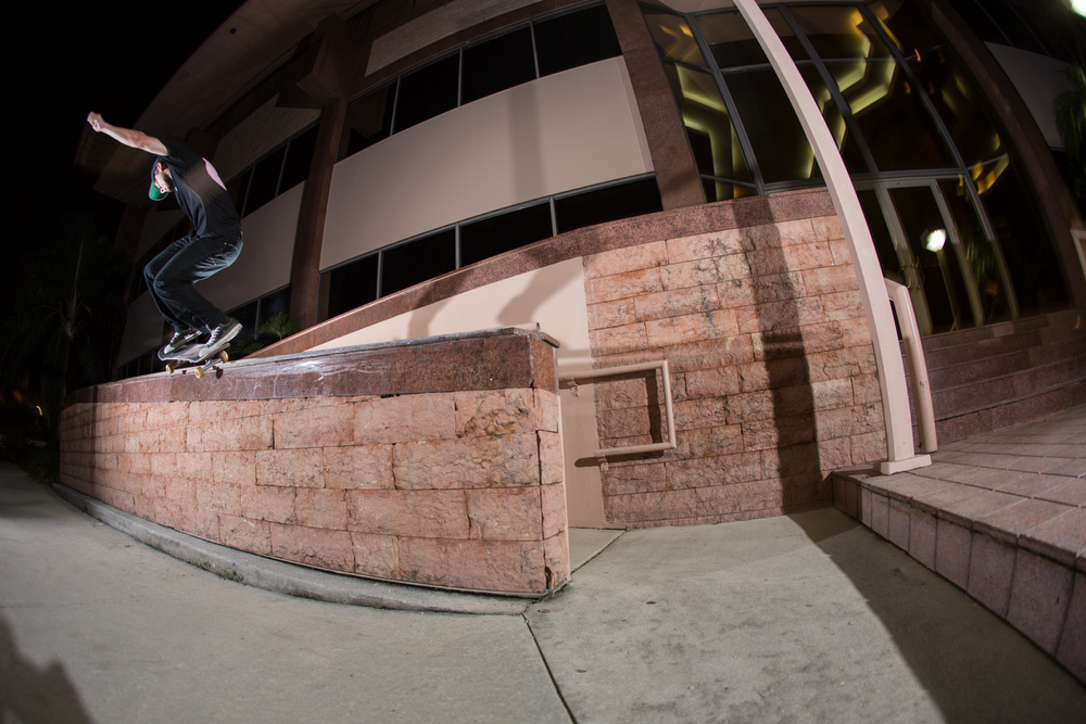 Gap to BS 50/50 in Stuart, Florida. Photo by Jason Henry