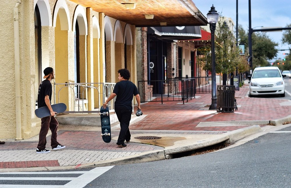 Jimmy and Buggica out in the streets of Ybor City putting in the work for Mixtape3