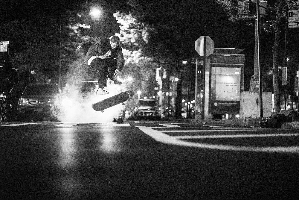 Brian Delatorre, 360 flip. Photo: Andrew Peters