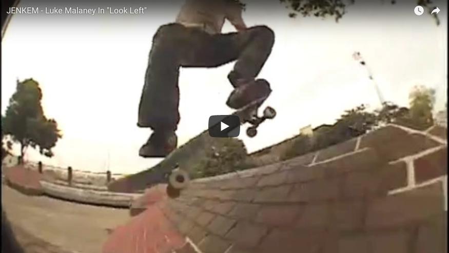 """Luke Malaney full part from Traffic's """"Look Left"""" video by Josh Stewart"""