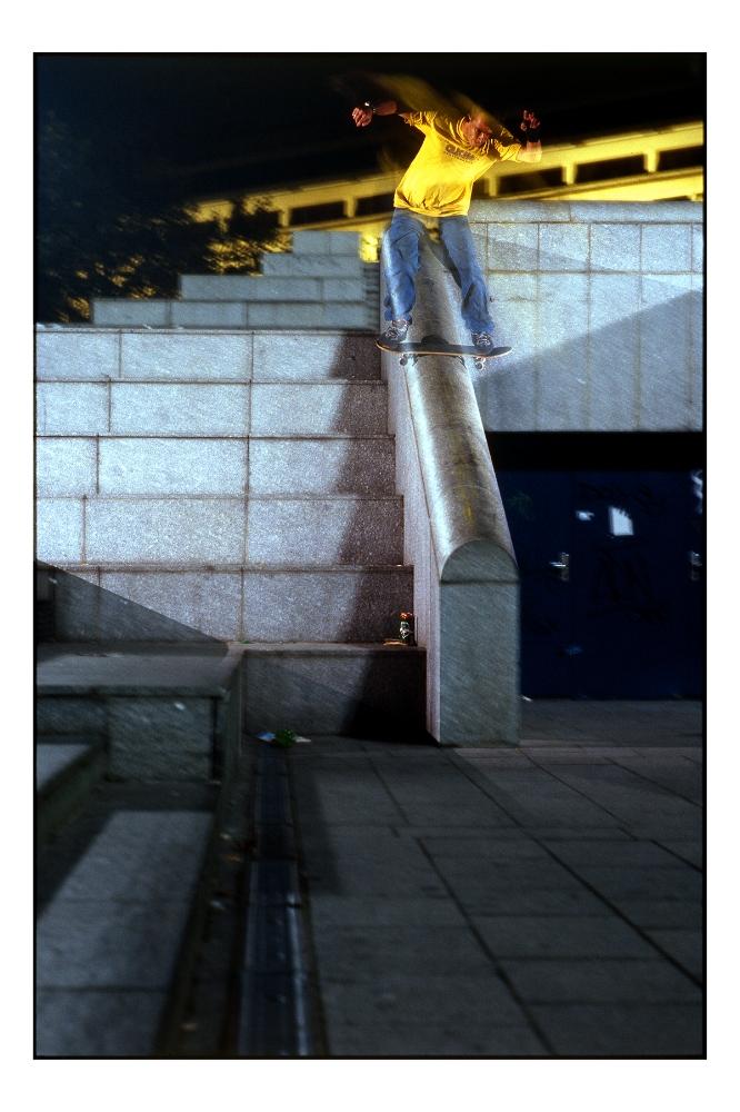 Jeremie Daclin-boardslide Bercy, 2000