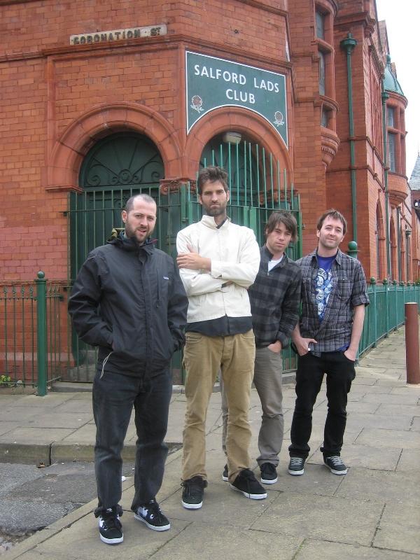 Seth Curtis, John, Olly Todd and Fos