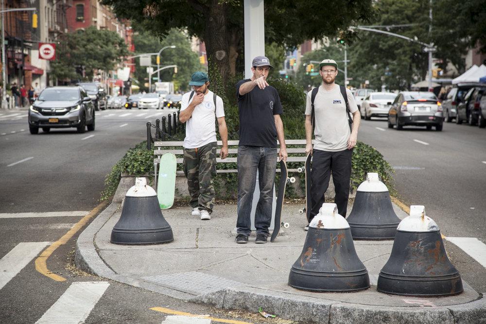 Luke, Ricky, and Pat: Manhattan / Photo: Stewart