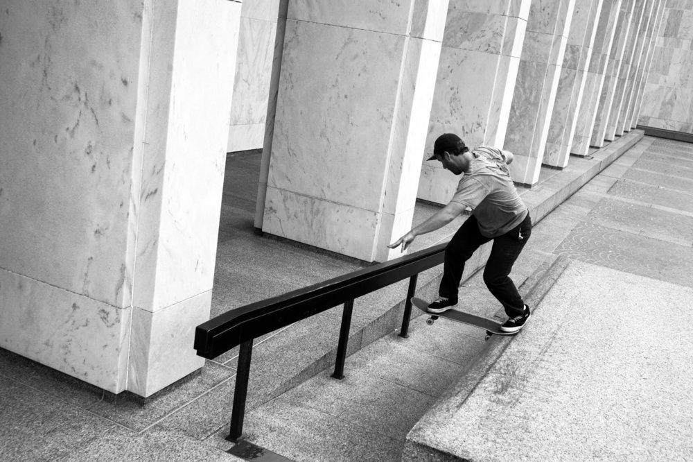 George Hanuschak: Back Tail / Photo: Myles