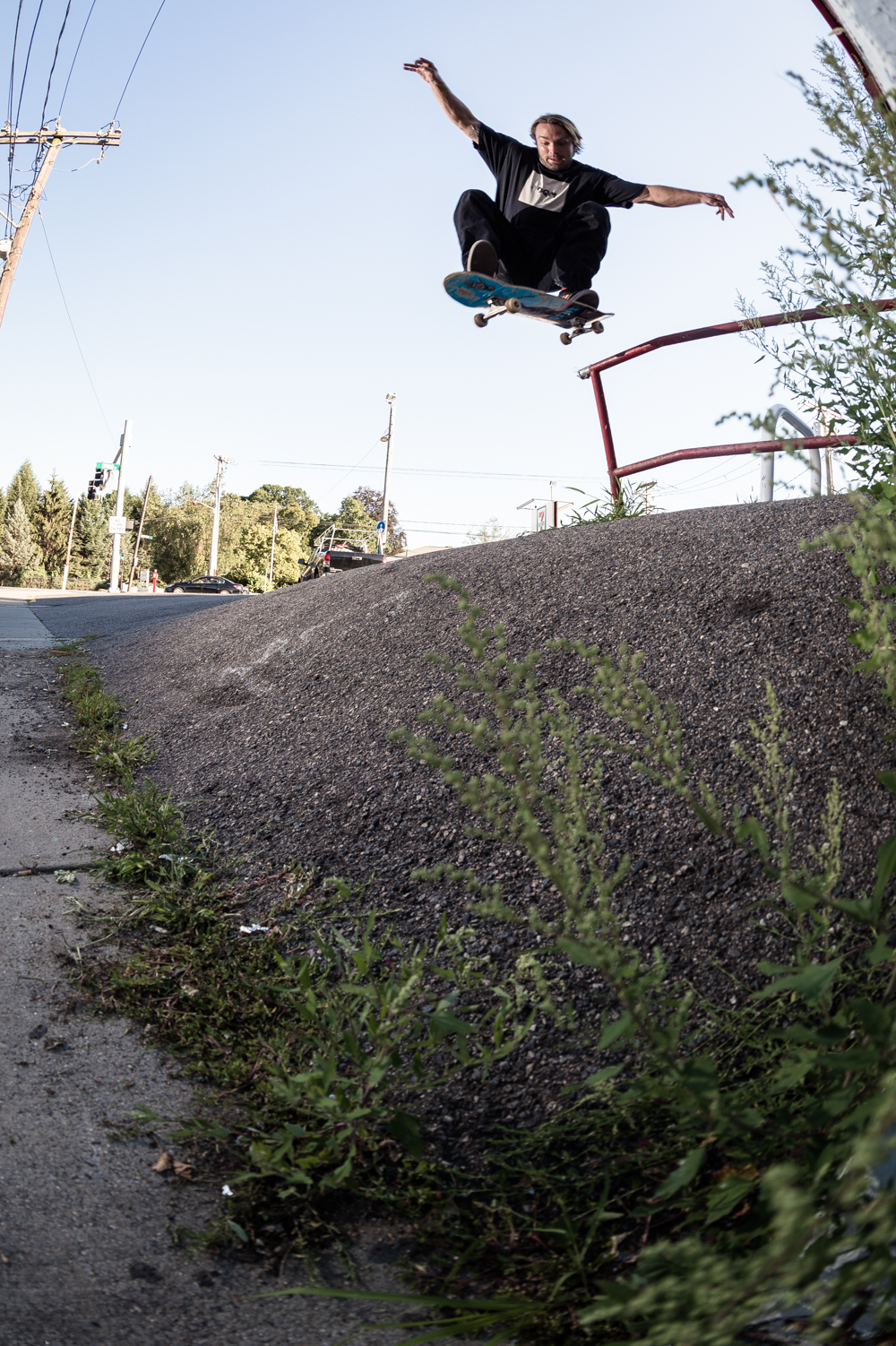 Luke Malaney: Pole Jam / Photo: Collins