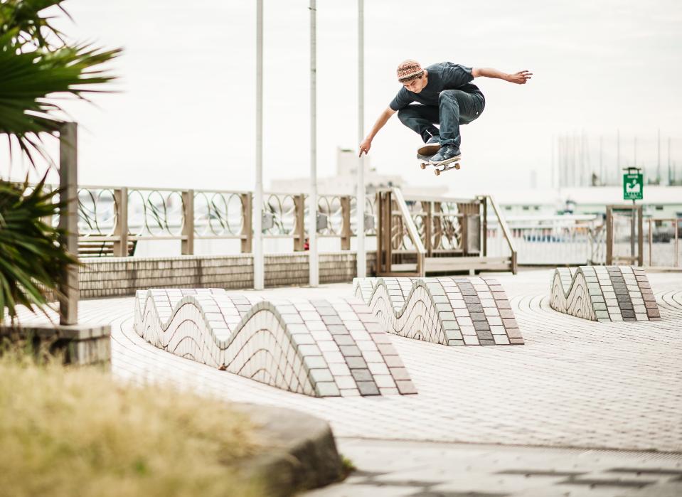 Hiroki Muraoka: Ollie / Photo: Shinsaku