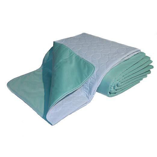 $50. Quilted, Waterproof, Washable Bed Pads (2)  Another important product for our paralyzed dogs. Having a reusable waterproof pad helps protect flooring, beds and furniture. A must have for all our incontinent pets.