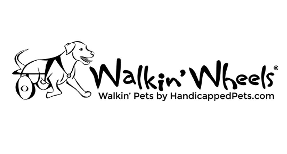 Walkin' Wheels   www.handicappedpets.com
