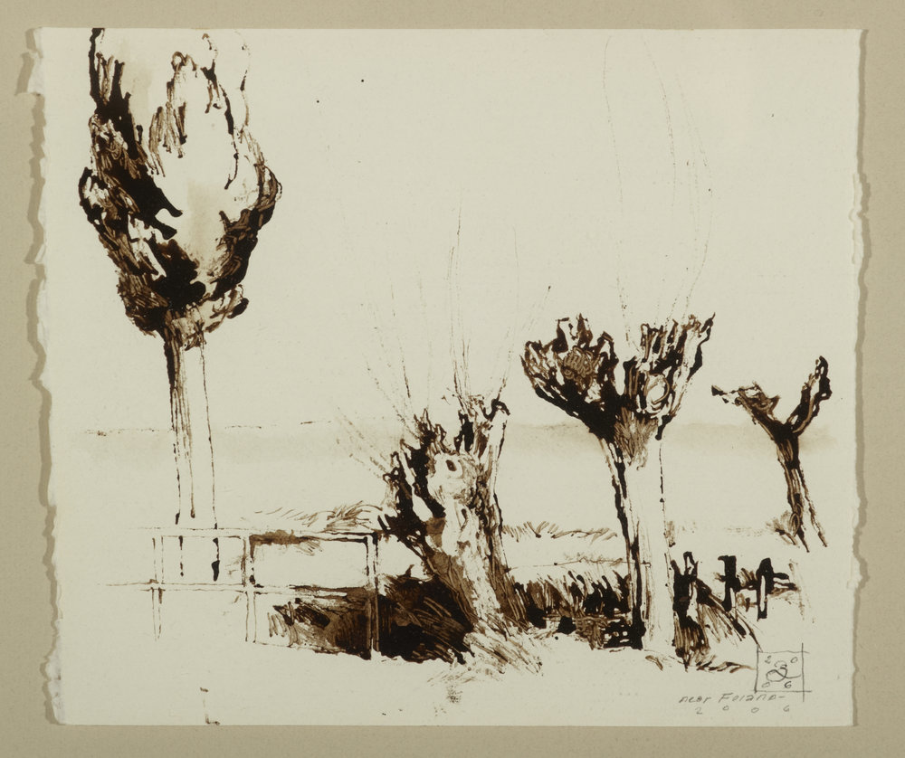 Three Trees Near Foiano