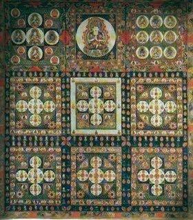 Shingon Buddhist Meditation Mandala Diamond.jpg