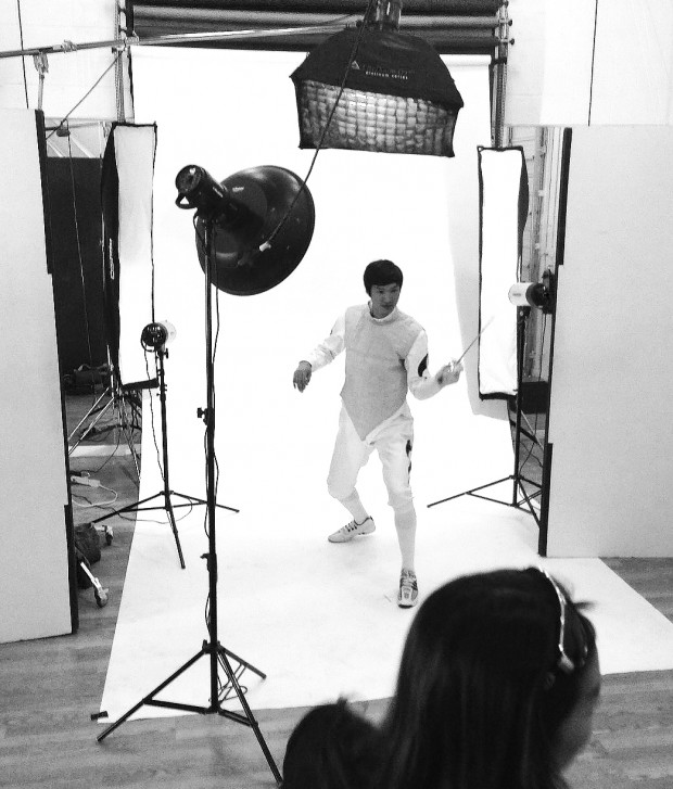 lei sheng, gold medalist, photo studio rental