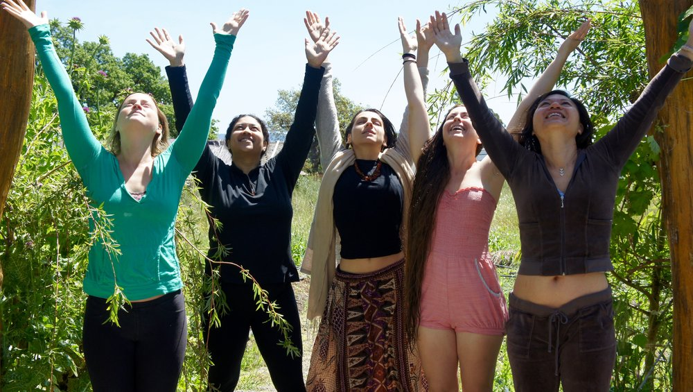Women's Retreat, May 3-5 - ♥ Daily Goddess Yoga for the Face and Body♥ Enjoy Cooking Garden Fresh Bio Cuisine Together♥ Make All Natural Beauty Products♥ Learn about Herbal Uses for Women's Health♥ Receive one-on-one health TCM consultation♥ Get reading and treatment with Amy (optional extra)♥ Relax with Gardening and Nature Walks♥ Nightly Self-Love Meditations and Sisterly Bonding