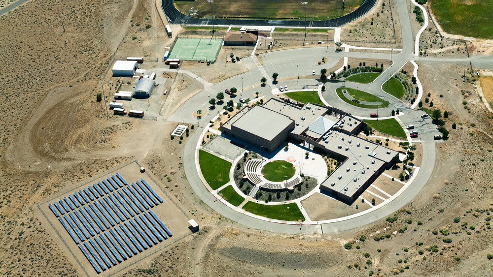 PV Array at Pyramid Lake School  by  Black Rock Solar  |  Creative Commons 2.0