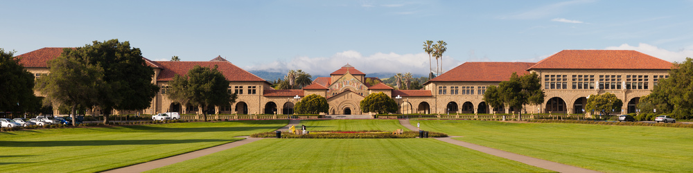 Image of Stanford University courtesy Wikipedia.