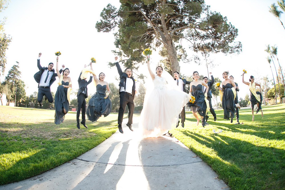 Wedding Jumping photo