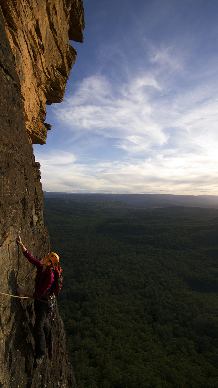 Natasha Sebire - Australian Climbing Festival ©2014