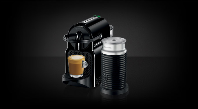 Inissia offers Nespresso expertise in a smart and small machine. Compact, lightweight and equipped with an ergonomic handle, Inissia fits perfectly into any interior design.
