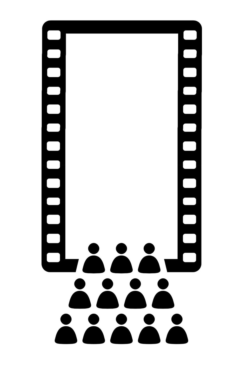 Tallscreen cinema vertical video