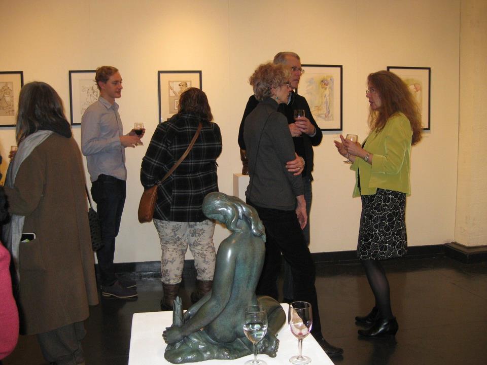 Sisko Gallery Opening