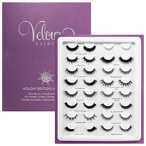 0a98cf1c131 Velour Lashes has come out with a Holiday Edition Lash Book, containing all  15 sets of silk lashes at Sephora for $250.00. If you're a falsies kind of  girl, ...