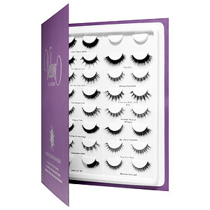 c0d01a16faa What it is: A lash book with all 15 sets of silk lashes from the Velour Lash  line.