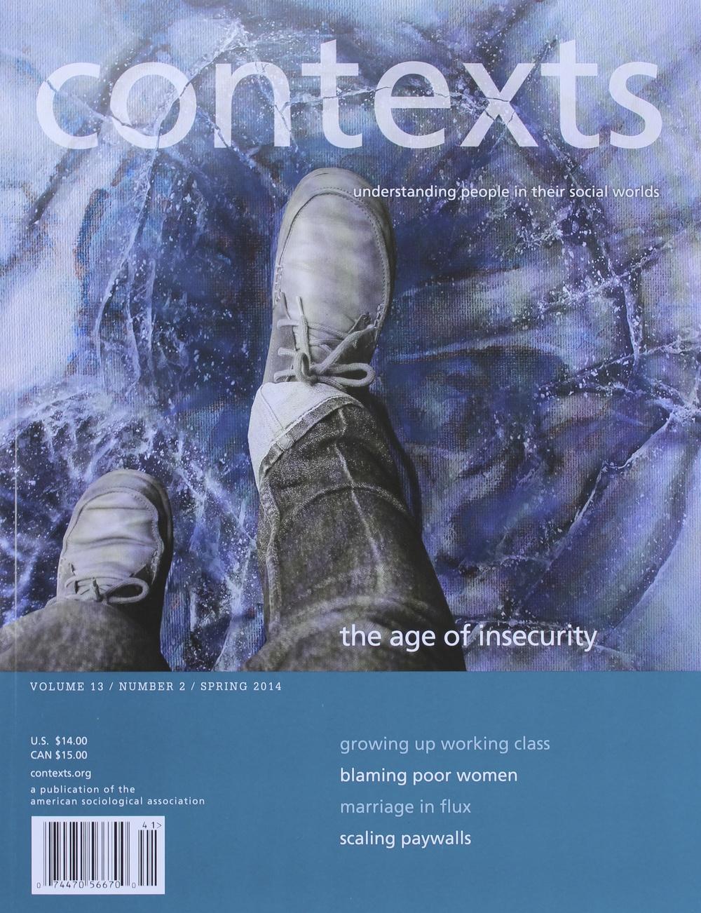 Context Cover Spring 2014