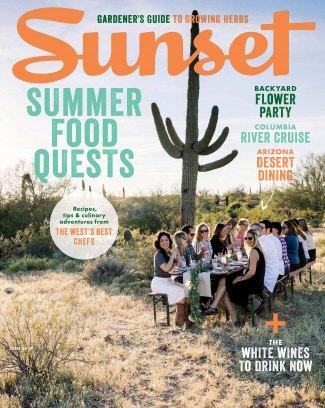 SUNSET MAGAZINE - JUNE 2017