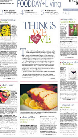 THE OREGONIAN - JAN 2012