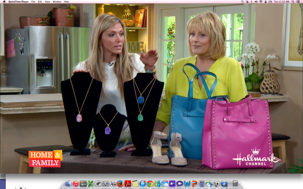 "THE BOSS LADY STYLE FEATURED ON HALLMARK CHANNEL'S ""HOME & FAMILY"" PROGRAM"