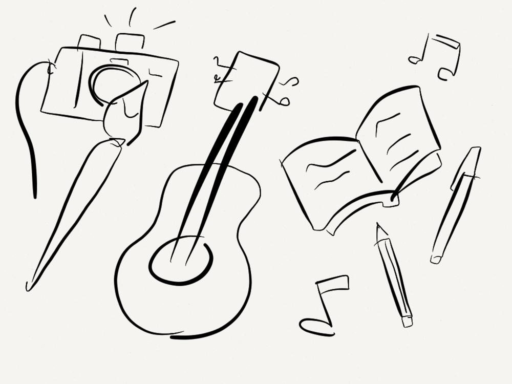 Arty sketch