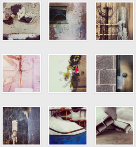 Images from Wenda Salomons 'one-a-day- Instagram project.