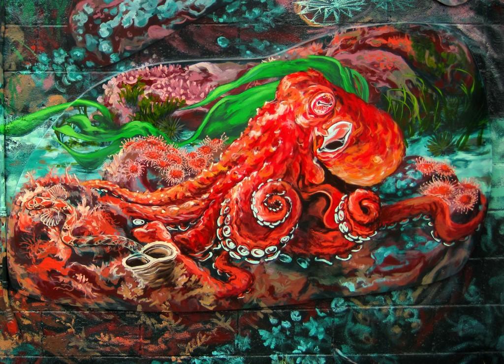 Kris Friesen mural