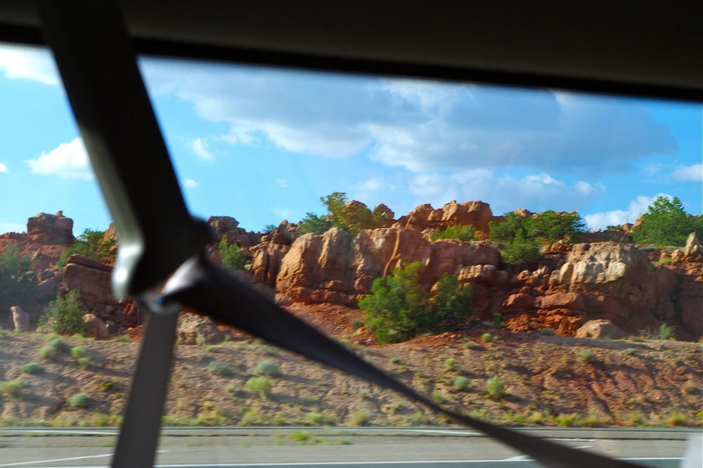Isn't this where they filmed the Road Runner cartoons?