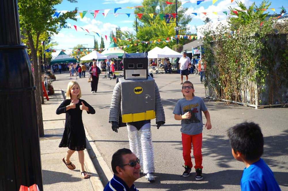 thumbs up for robot batman