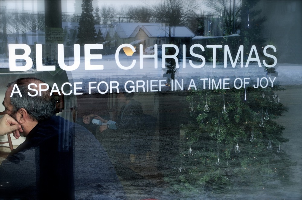looking in on Blue Christmas