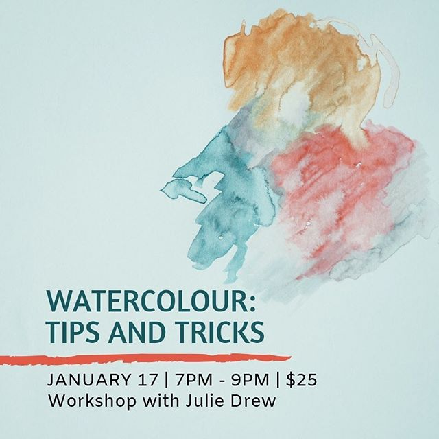 Interested in learning how to watercolour paint — or want to develop some skills you already have? Julie will take you three different techniques to help you hone your craft. Our small workshop classes are an ideal place to learn. See bio for registration link. 📷: Annie Spratt  #yegart #yeggallery #yeg #artspace #communityspace #workshop #watercolourpainting #abave #wbi118