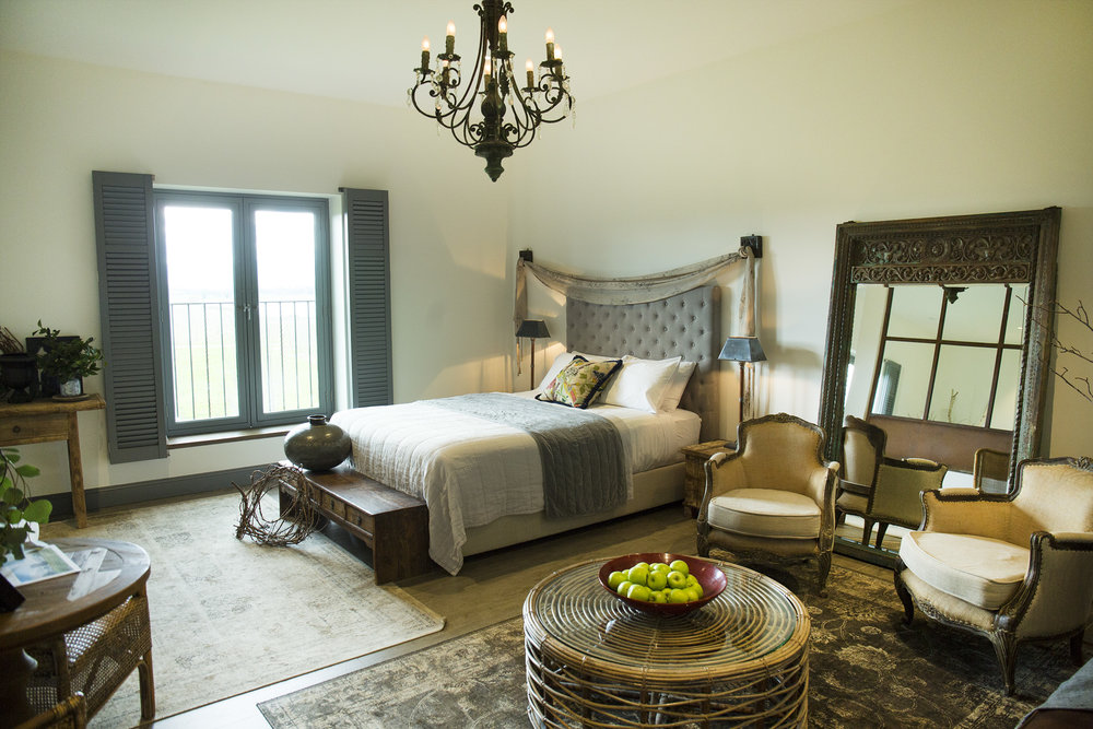 The Farmhouse at Meletos Yarra Valley Accommodation Tuscan Suite