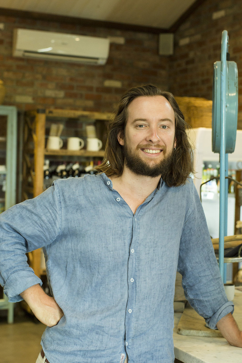 Ryan Frazer   Growing up in the family business that is Stones of the Yarra Valley and Meletos, Ryan has been involved in a variety of ways over the years. From labourer to kitchen hand, barman to graphic designer. Combining a passion for artisan produce and story telling, Ryan, with his Providore family, has sculpted a business/project/destination to be proud of. Curating the food and wine as well as hosting producer events, these subjects are really at the core of The Providore. Produced out of The Providore for both Meletos and Stones,  Seasoned  is an in-house quarterly guide, profiling local producer, staff across the property and feature recipes by our chefs. The broadsheet is the passion project of Ryan's and a lovely collaboration with his brother Benny.