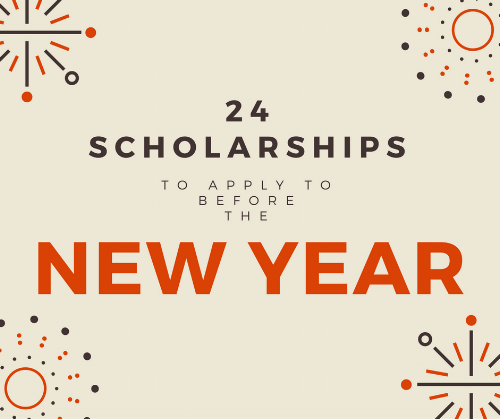 Scholarships with December deadlines
