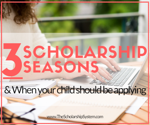when to apply for scholarships