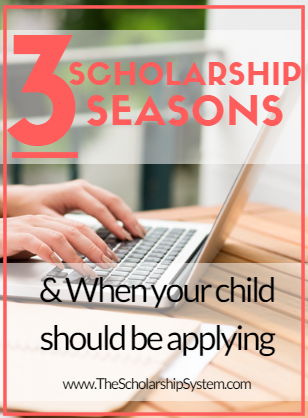 when students should apply for scholarships
