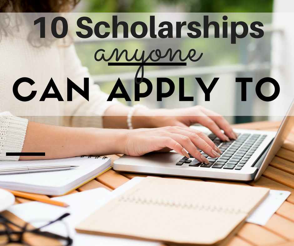 We wanted to show you that your child doesn't need a 4.0 and crazy financial need to be eligible for scholarships. Here's a quick list we pulled together to prove that.