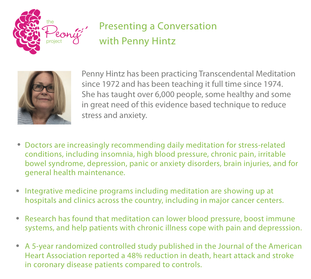 Generalized anxiety treatment bvgg - Peony Project Gathering Recap Spring 2016