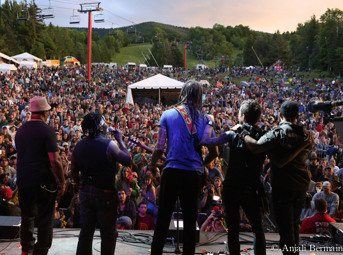 Michael Franti and Spearhead, Mountain Jam